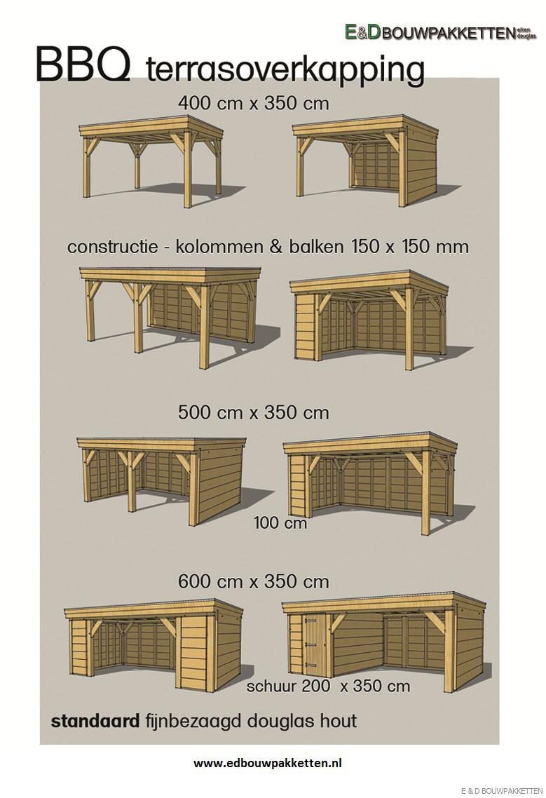 E d bouwpakketten en houtbewerking eiken bijgebouwen en eiken gebinten voor uw eiken carport - Tuinmodellen met rollen ...
